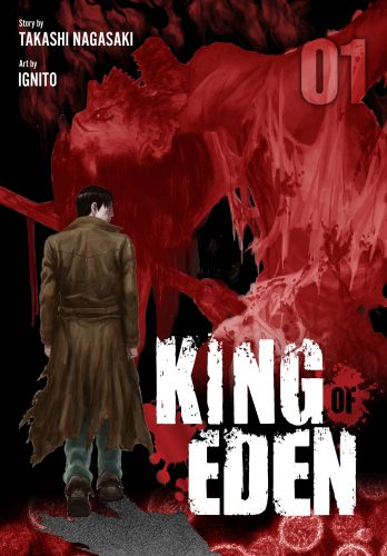 "King-Of-Eden-Vol.-1-Cover-348x500 Horror Manga ""King Of Eden"" Now Available in Print and Digitally!"