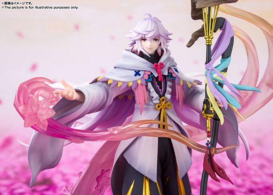 Merlin4-560x399 Fate/Grand Order's Magus of Flowers Merlin is Available for Pre-Order!