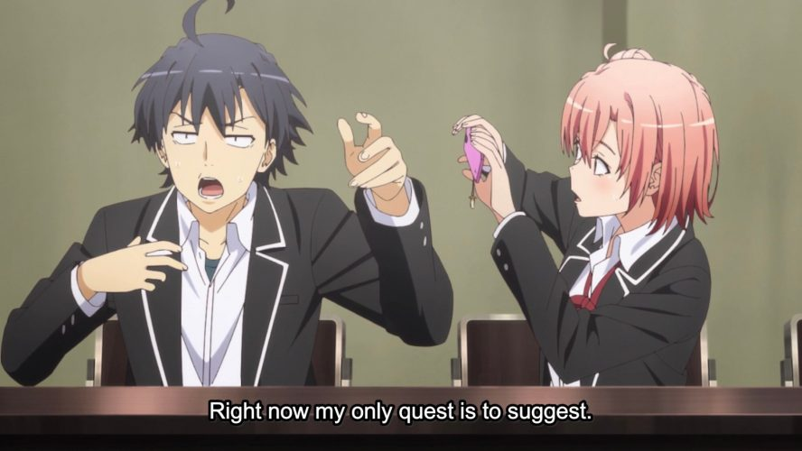 Yahari-Ore-no-Seishun-Love-Comedy-wa-Machigatteiru-wallpaper-500x280 The Funniest Anime Moments of Summer 2020