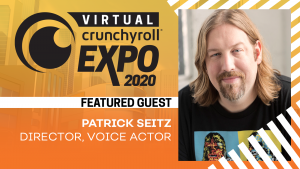 [Honey's Anime Interview] Patrick Seitz – Voice of Dio, Garrosh, Jeritza, and More! (V-CRX)
