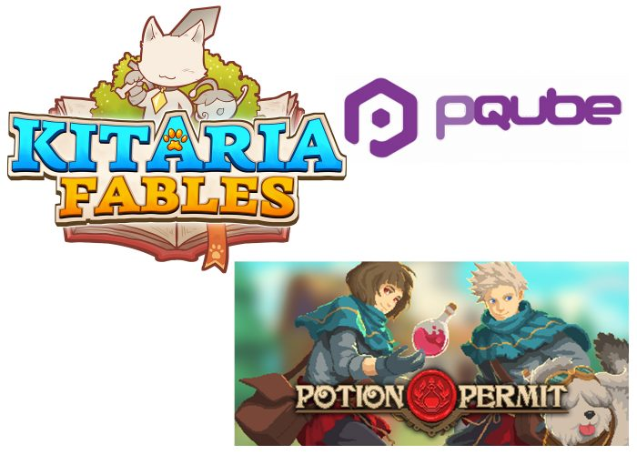 Pqube-games-700x500 Pandemic-Purrrfect Games! PQube's Kitaria Fables and Potion Permit Coming to All Platforms in 2021!