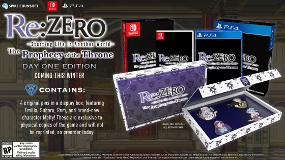Re-ZERO-Starting-Life-in-Another-World-The-Prophecy-of-the-Throne-Key-560x407 All About the Upcoming Re:ZERO - Starting Life in Another World-  The Prophecy of the Throne Game!