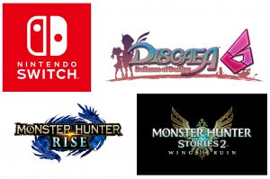 Disgaea 6, Monster Hunter Rise, and Monster Hunter Stories 2 Coming to Nintendo Switch in 2021!