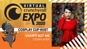 [Honey's Anime Interview] Mario Bueno & Vampy Bit Me (Linda Le) – Hosts of the Virtual Crunchyroll Expo's 2020 Cosplay Cup!