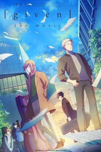 """20_09_CR_GivenTheMovie_Seasonal-Assets_v2_2x3-333x500 """"Given The Movie"""" Heading to Crunchyroll in 2021"""