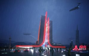 New Atari Hotels Unveil Design Inspired by the History and Future of Gaming!