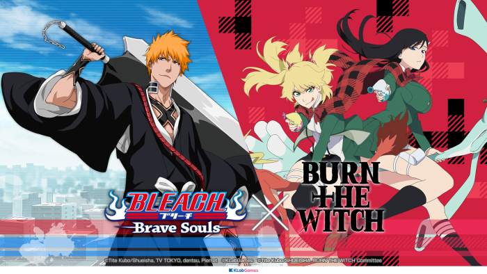 Bleach-Brave-Souls-x-Burn-the-Witch-Collab-700x394 Bleach: Brave Souls x Burn the Witch Collaboration Event Begins with Chances to Win Original Collab Merch!