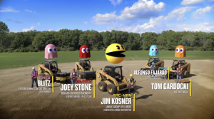 PAC-MAN and Caterpillar Inc. Recreate Classic Arcade Game Using Heavy Duty Construction Equipment and It's Pretty Cool!