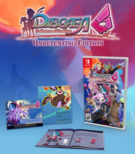 Disgaea-6-Unrelenting-Edition-439x500 Disgaea 6: Defiance of Destiny Unrelenting Edition is Ready to Preorder! Watch the Series Introduction Trailer!