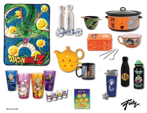 Dragon-Ball-Merch-Bioworld-Product-560x433 Toei Animation and Funimation Announce Tons of New Dragon Ball Merch Coming Soon from Funko, Bioworld, Primitive, and More!