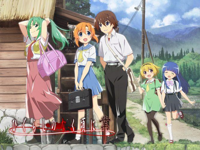 Higurashi-When-They-Cry-GOU-Wallpaper-2-667x500 Is Higurashi: When They Cry - NEW Living Up to Expectations!?