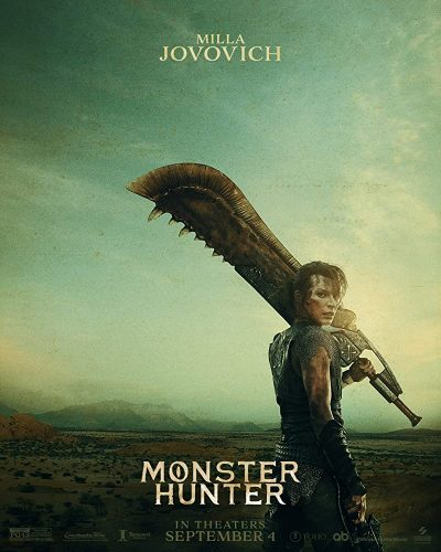 """MOnster-Hunter-Hollywood-400x500 """"Monster Hunter"""" Hollywood Live-Action Teaser Clip Shown in NY Comic Con Metaverse!"""