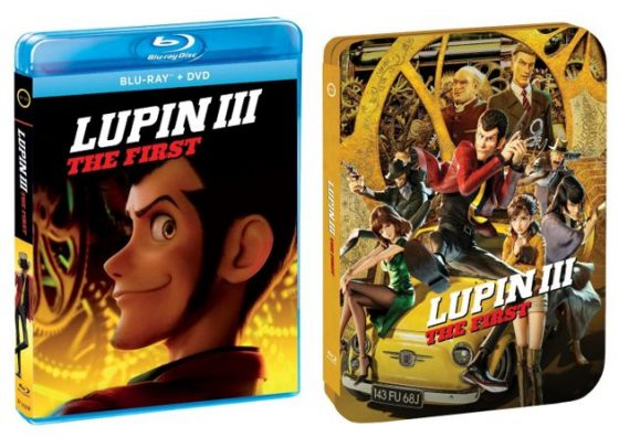 Lupin Iii The First On Digital Download To Own December 15 2020 On Steelbook Blu Ray And Dvd January 12 2021