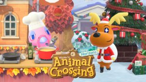Celebrate the Holidays in Animal Crossing: New Horizons with Seasonal Activities and a Winter Update! Bring Your Friends!