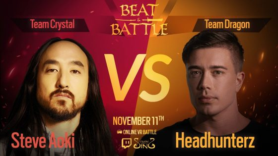 Beat-n-Battle-560x315 'Beat & Battle' VR Event Brought Out Some of the Biggest Names in EDM and Gaming!