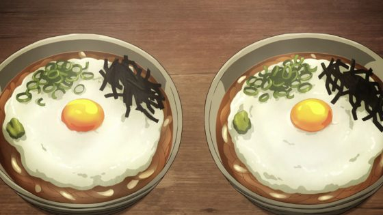 Kimetsu-Udon-700x394 Tsukimi Tororo with Onsen Tamago (Udon)  Recipe - From Demon Slayer's Toyo's Stand to Your Table!