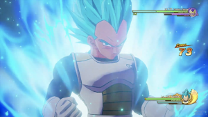 "SSGSS Vegeta and Golden Frieza Duke it Out in DRAGON BALL Z: KAKAROT's ""A New Power Awakens Part 2"" DLC Game Footage!"