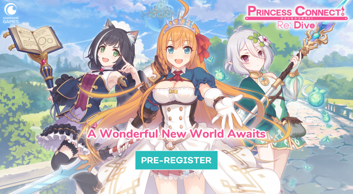 20_09_CRGames_PrincessConnect_Pre-Registration_Onsite_Lifecycle_Assets_Var2_Social_3200x1800-700x394 Princess Connect! Re: Dive  Mobile Game Finally Available Worldwide Through Crunchyroll Games!