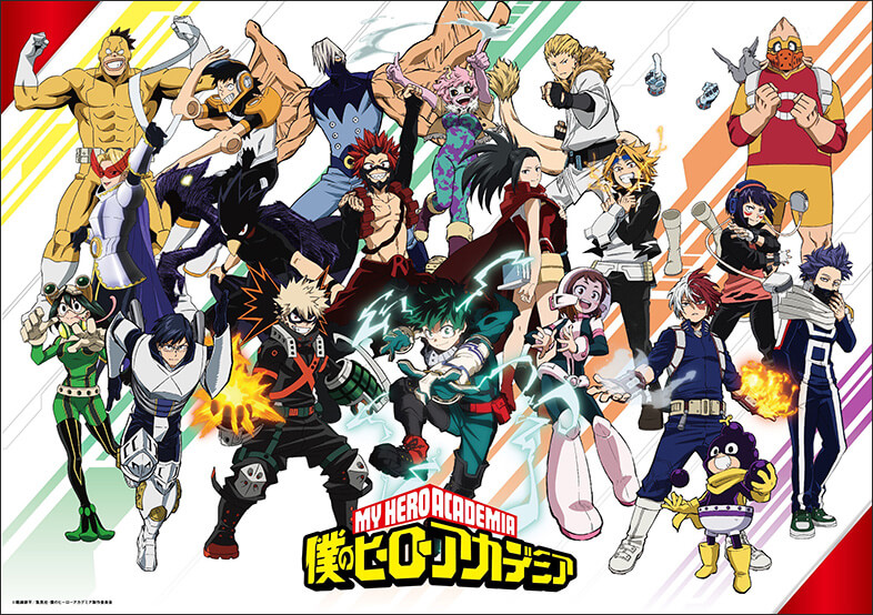 Boku-no-Hero-Academia-My-Hero-Academia-5th-Season-KV Get Pumped with Visuals and Trailers for Boku no Hero Academia (My Hero Academia) Season 5!