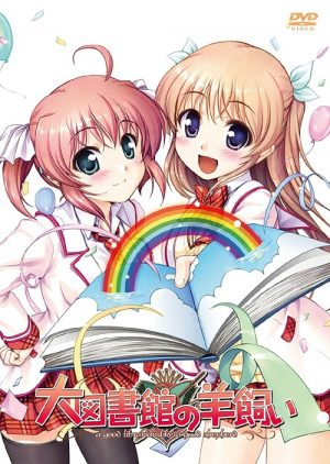 6 Anime Like Daitoshokan no Hitsujikai (A Good Librarian Like a Good Shepherd) [Recommendations]