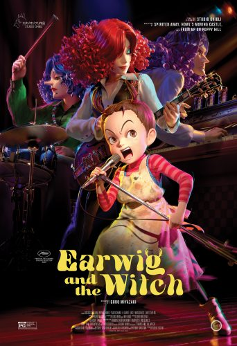 "Earwig_US_Poster-342x500 English Dub Cast, Theme Song Performer Announced for Studio Ghibli's ""Earwig and the Witch"""