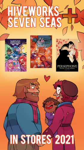 Hiveworks-SevenSeas1-560x315 Seven Seas and Hiveworks Comics Join Forces to Bring Webcomics to Bookstores