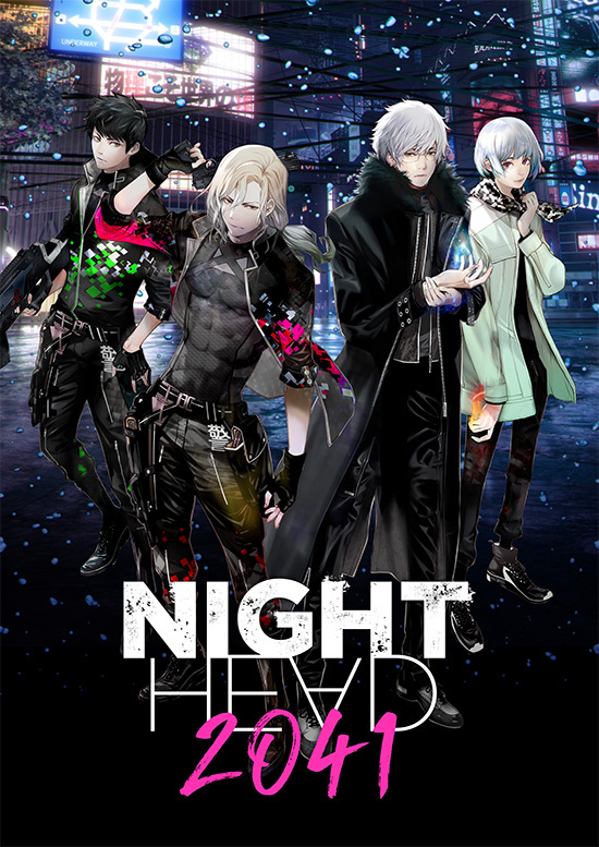 Night-Head-2041-KV Night Head 2041 Anime Arrives Summer 2021