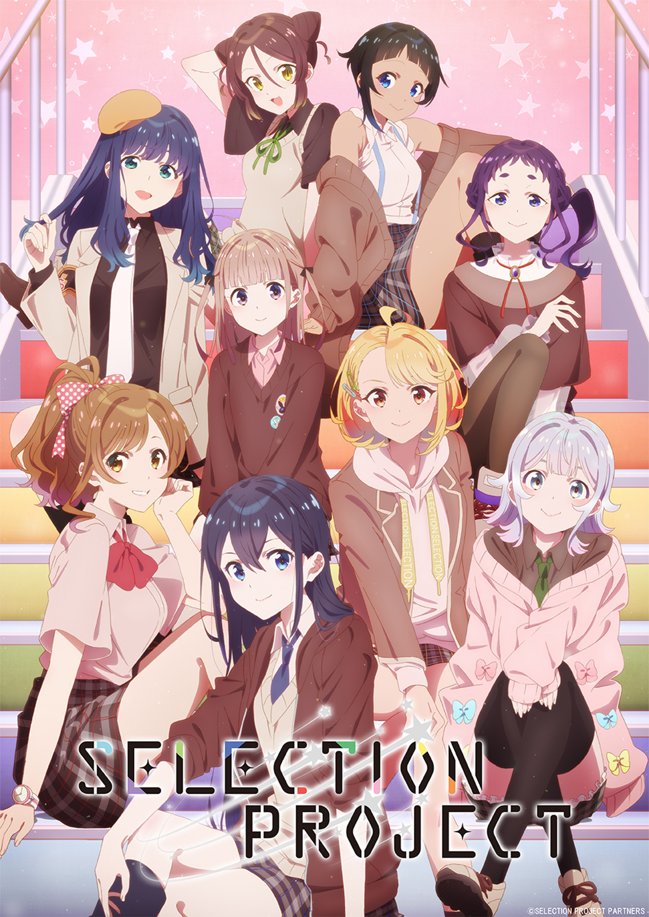 "selection-project-kv1 Upcoming Idol Anime ""SELECTION PROJECT"" Unveiled New PV & Cast!!"