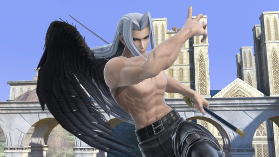 Sephiroth_Stage_4a-560x315 Sephiroth Descends onto Super Smash Bros. Ultimate as Its Latest DLC Fighter on Dec. 22