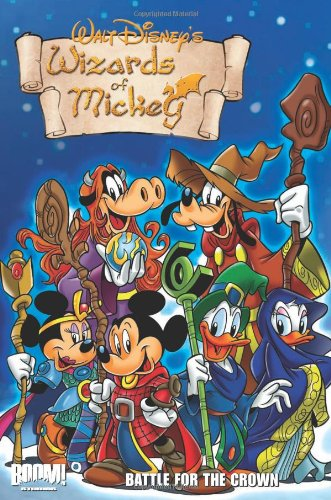 Wizards-of-Mickey-manga A Nostalgic Tale of Wizards, Dragons, and Magic -- Wizards of Mickey