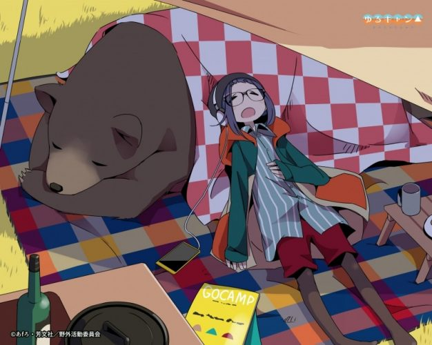 Yurucamp-Wallpaper-626x500 Top 10 Anime to Watch in the Winter [Best Recommendations]