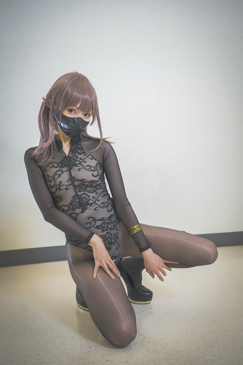 Cosplay_Cosholic_Kurumi_07 Sexy Cosplay with Mask at Ecchi Cosplay Convention 'Cosholic' Held at the End of the Year! [40+ Photos]