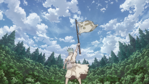 Dr.-Stone-Stone-Wars-Wallpaper-500x281 The Stone War Begins!!! First Impressions for Dr. Stone: Stone Wars
