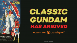 """Classic """"Mobile Suit Gundam"""" Premieres Today on Crunchyroll!"""