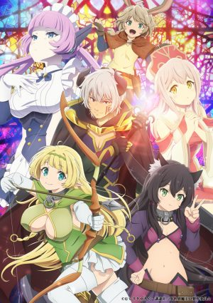 How Not to Summon a Demon Lord Ω Released a New Visual! Begins April 10th