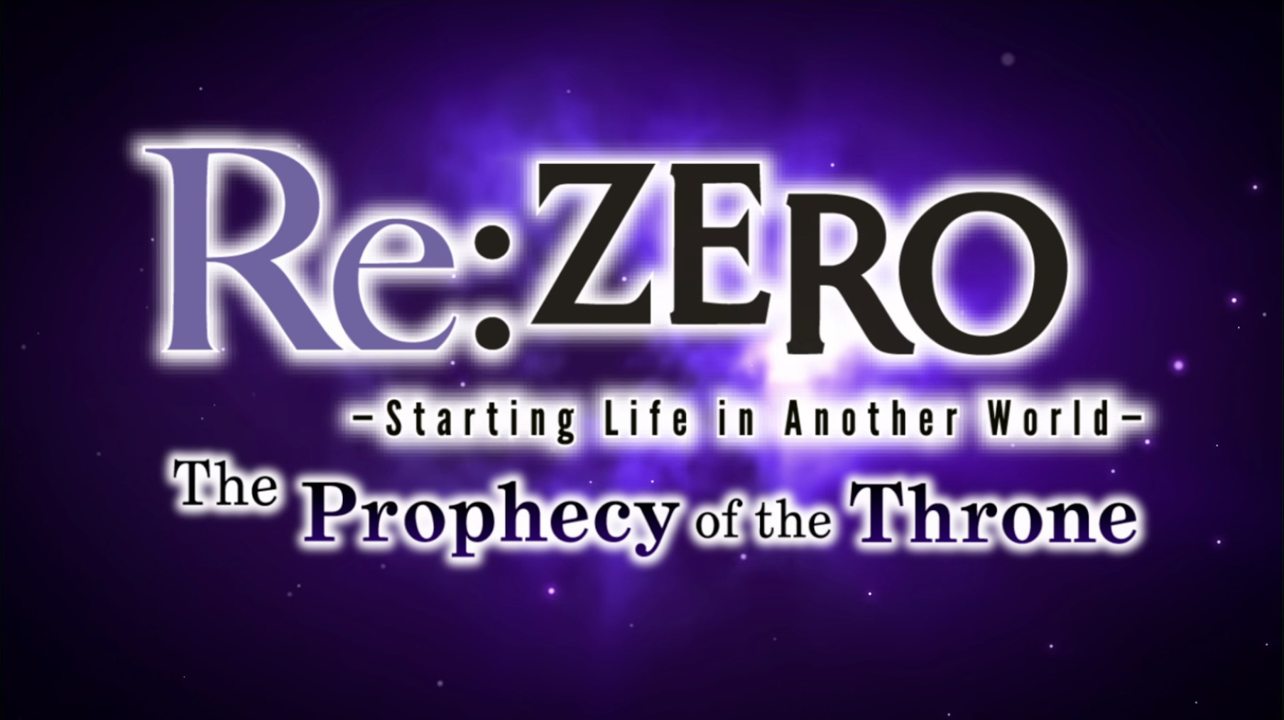 re_zero_prophecy_of_the_throne_splash Re:Zero ~Starting Life in Another World~ The Prophecy of the Throne - PC (Steam) Review