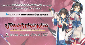 Full Utawarerumono Trilogy Out Jan. 22 on Steam!