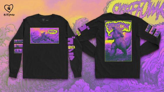 17_Black_LS_screeonk_16x9_GODZILLA-560x315 Exclusive GODZILLA Merch Available for Pre-Order Now at Crunchyroll Loves
