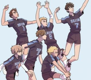 2.43: Seiin High School Boys Volleyball Team Mid-Season Impressions: Pass It or Block It?
