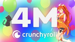 Crunchyroll Partners with Idris & Sabrina Elba to Develop Animated Thriller and Crosses 4M Subs