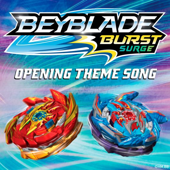 "Beyblade-5_1200-560x560 [Honey's Anime Exclusive Premiere] 5th ""Beyblade Burst Surge"" Theme by Konrad OldMoney and Johnny Gr4ves to Release Feb. 5 - Listen NOW!"
