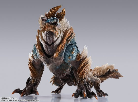 """S.H.MonsterArts-ZINOGRE-7-560x371 Zinogre from """"Monster Hunter"""" Joins S.H.MonsterArts! Preorders Open Now"""