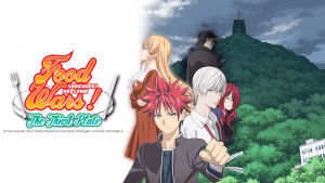 "Crunchyroll Serves Up ""Food Wars! The Third Plate"" on Toonami This Month"
