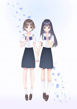 """Blue Reflection Ray"" Releases ""Blue"" and ""Rouge"" PVs Featuring OP and ED Themes!"