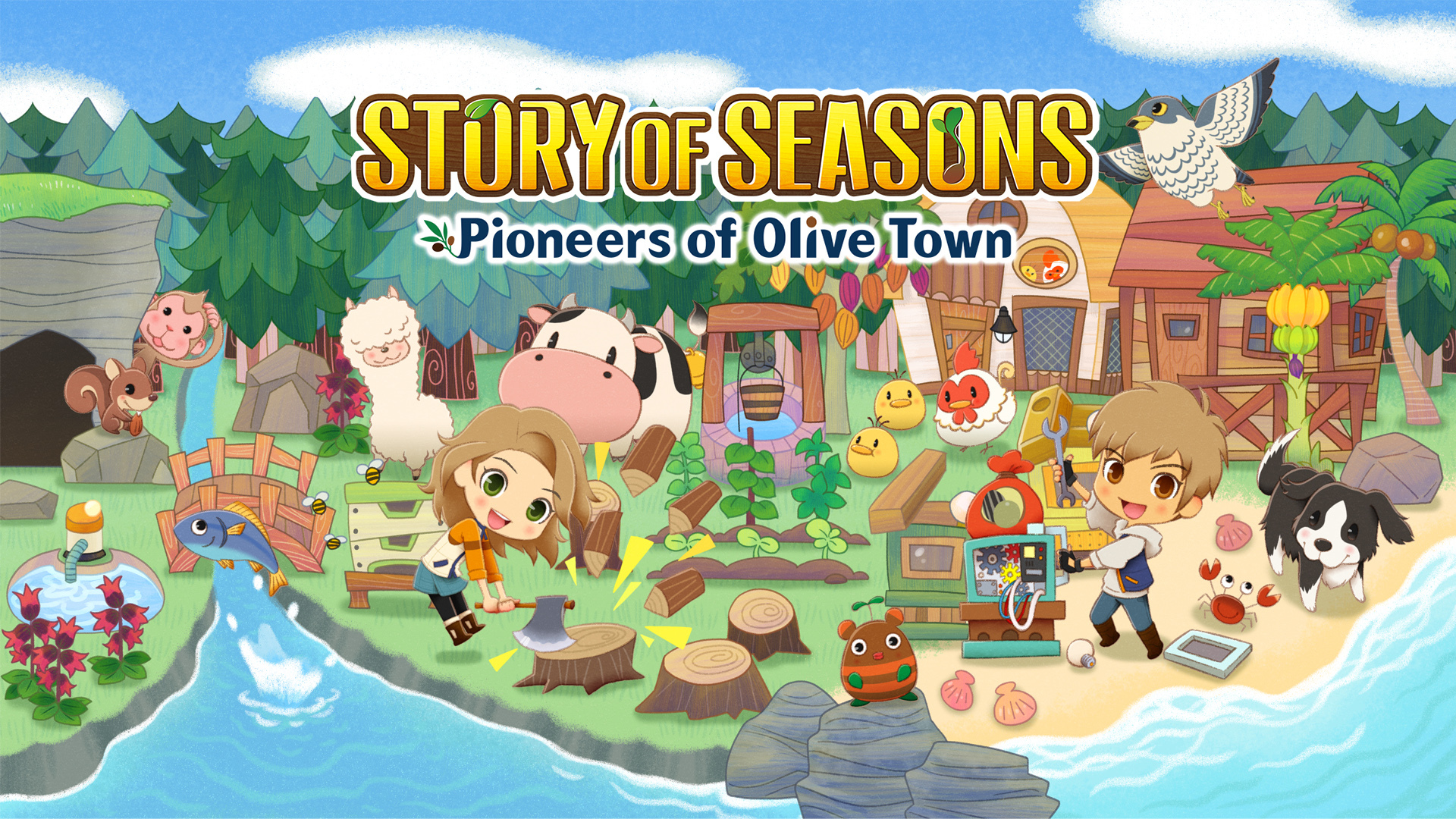 Switch_STORYOFSEASONSPioneersofOliveTown_Screenshot_1 [Honey's Anime Interview] Director Hikaru Nakano for STORY OF SEASONS: Pioneers of Olive Town
