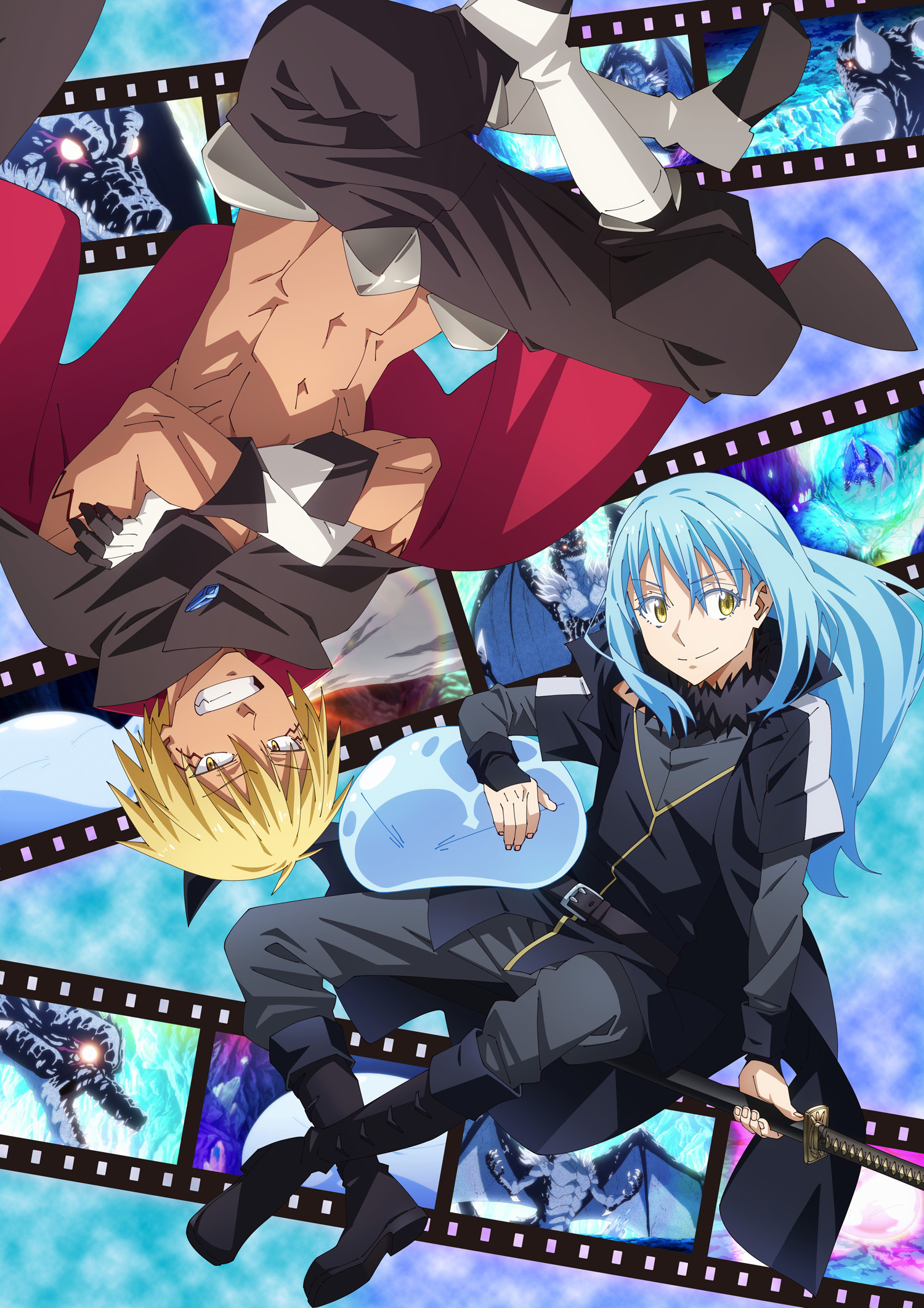 "Tensei-shitara-Slime-Datta-Ken-2nd-Season-KV3 Part 2 of ""That Time I Got Reincarnated as a Slime Season 2"" Arrives Summer 2021!!"