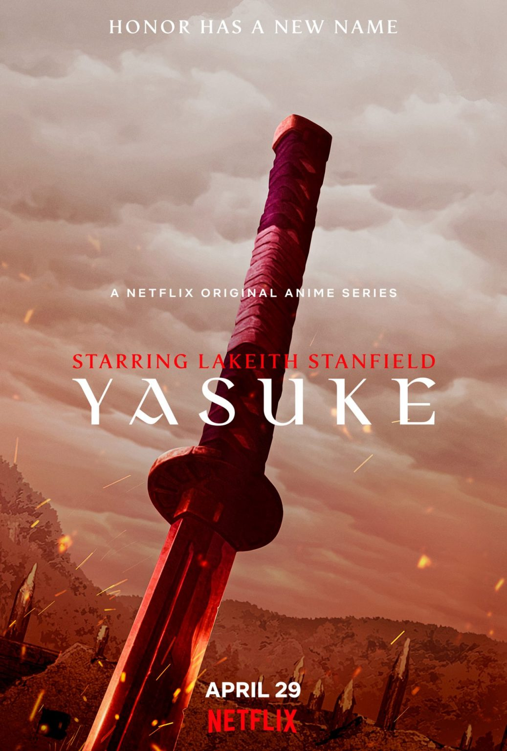 """YasukeS1_Teaser_Vertical_RGB_EN-US_PRE-1037x1536-1 New Visual and Trailer Released for """"Yasuke"""", Out April 2021 on Netflix!"""
