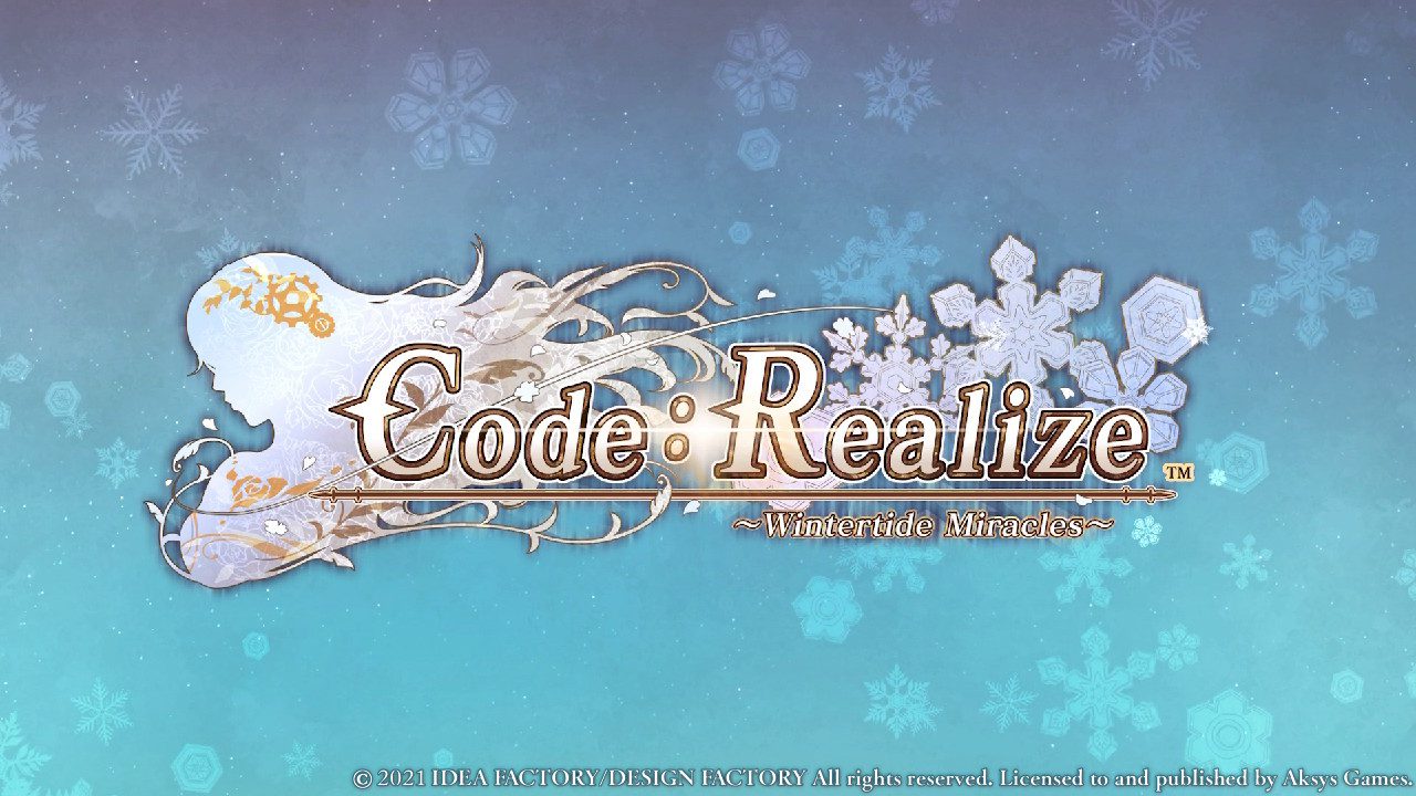 code_realize_wintertide_miracles_splash Gorgeous Cardia Beckford and the Gang Are Back in Code:Realize ~Wintertide Miracles~ for Nintendo Switch