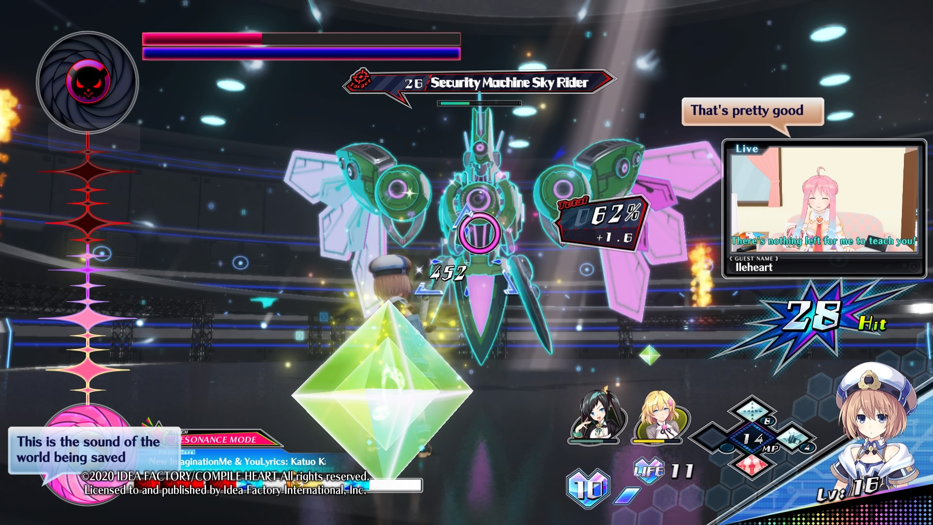 neptunia_virtual_stars_splash Neptunia Virtual Stars (VVVTune) Is a Disappointing Game That Only Appeals to Hardcore Neptunia Fans, If at All