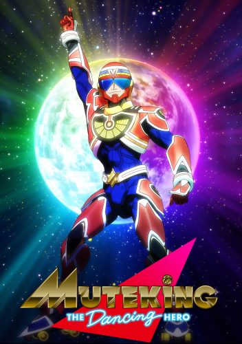 """teaservisual-352x500 Fall 2021 Anime """"MUTEKING THE Dancing HERO"""" Releases New Details"""